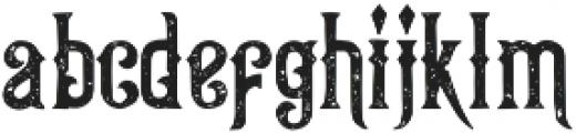 Queen Victoria Vintage otf (400) Font LOWERCASE