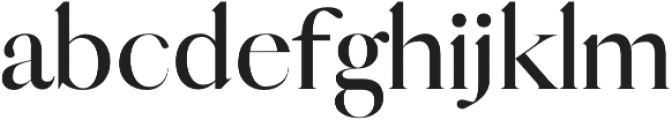 Queen bold otf (700) Font LOWERCASE