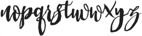 Queen otf (400) Font LOWERCASE