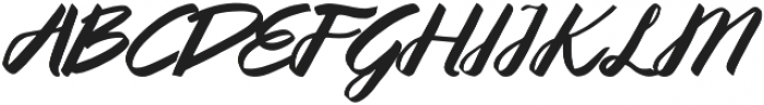 Queenata otf (400) Font UPPERCASE