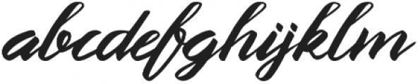 Queenata otf (400) Font LOWERCASE