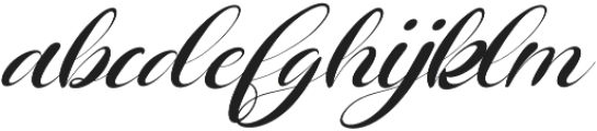 Queenland otf (400) Font LOWERCASE