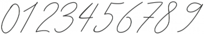 Queenstown Signature alt otf (400) Font OTHER CHARS