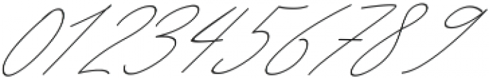 Queenstown Signature alt slant otf (400) Font OTHER CHARS