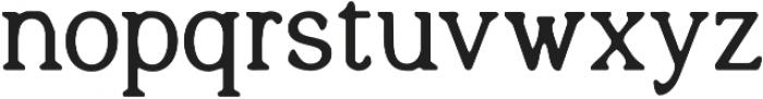 Quelity otf (700) Font LOWERCASE