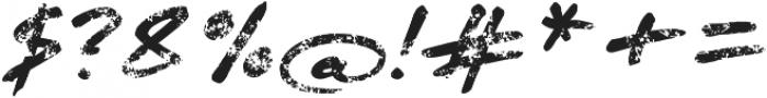 Quendel Crayon Regular otf (400) Font OTHER CHARS