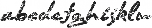 Quendel Crayon Regular otf (400) Font LOWERCASE