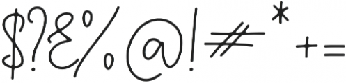 Questa Whitte Regular otf (400) Font OTHER CHARS