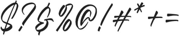 Questario Regular otf (400) Font OTHER CHARS