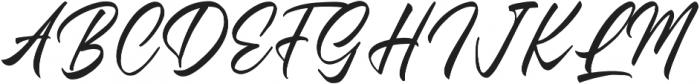 Questario Regular otf (400) Font UPPERCASE