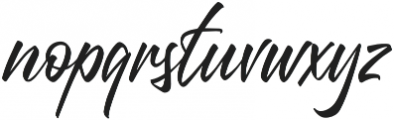 Questario Regular otf (400) Font LOWERCASE