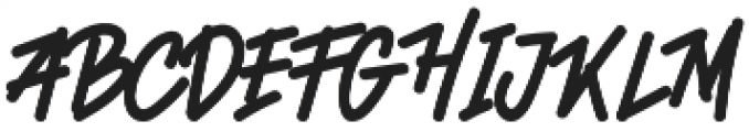 Quetty Funky Regular otf (400) Font UPPERCASE