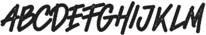Quetty Funky Rough Regular otf (400) Font LOWERCASE