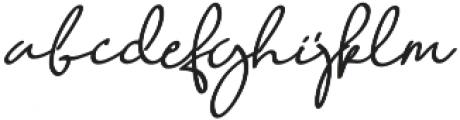 Quetzalli otf (400) Font LOWERCASE