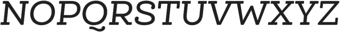 Queulat Alt Soft Medium It otf (500) Font UPPERCASE