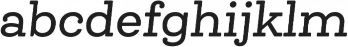 Queulat Alt Soft Medium It otf (500) Font LOWERCASE