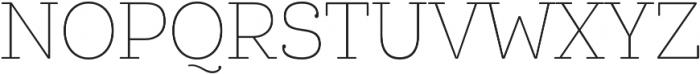 Queulat Cnd Alt Soft Thin otf (100) Font UPPERCASE