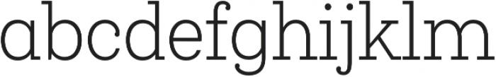Queulat Cnd Light otf (300) Font LOWERCASE