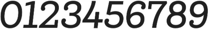 Queulat Cnd Medium It otf (500) Font OTHER CHARS