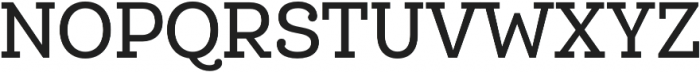 Queulat Cnd Medium otf (500) Font UPPERCASE