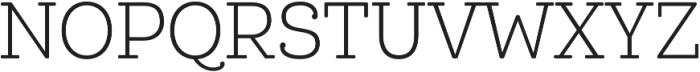 Queulat Cnd Soft Light otf (300) Font UPPERCASE