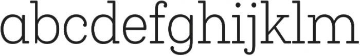 Queulat Cnd Soft Light otf (300) Font LOWERCASE