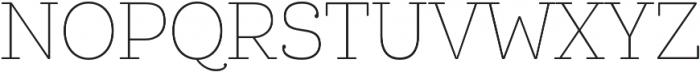 Queulat Cnd Soft Thin otf (100) Font UPPERCASE