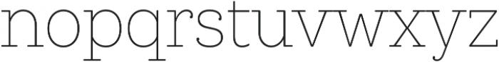 Queulat Cnd Soft Thin otf (100) Font LOWERCASE