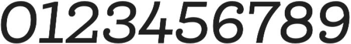 Queulat Medium Italic otf (500) Font OTHER CHARS