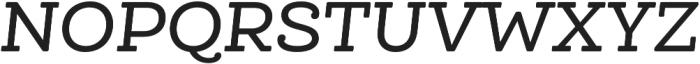 Queulat Soft Medium It otf (500) Font UPPERCASE