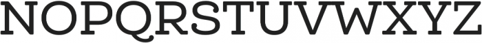 Queulat Soft Medium otf (500) Font UPPERCASE