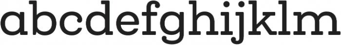 Queulat Soft Medium otf (500) Font LOWERCASE