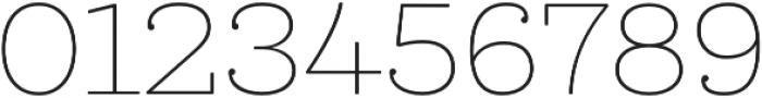 Queulat Soft Thin otf (100) Font OTHER CHARS
