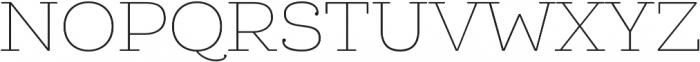 Queulat Soft Thin otf (100) Font UPPERCASE