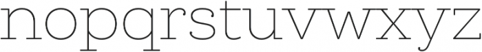 Queulat Soft Thin otf (100) Font LOWERCASE