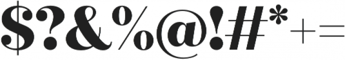 Quiche Display ExtraBold otf (700) Font OTHER CHARS
