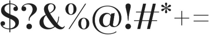 Quiche Display Medium otf (500) Font OTHER CHARS