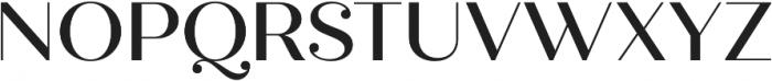 Quiche Display Medium otf (500) Font UPPERCASE