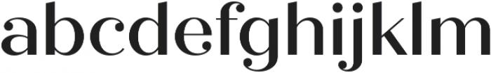 Quiche Display Medium otf (500) Font LOWERCASE
