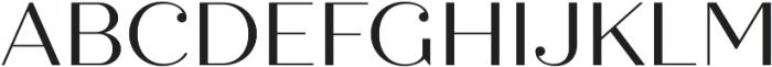 Quiche Display otf (400) Font UPPERCASE