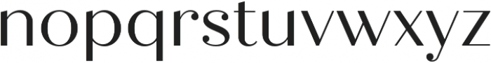 Quiche Display otf (400) Font LOWERCASE