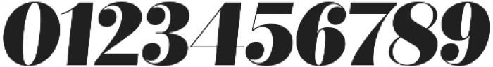 Quiche Fine Black Italic otf (900) Font OTHER CHARS
