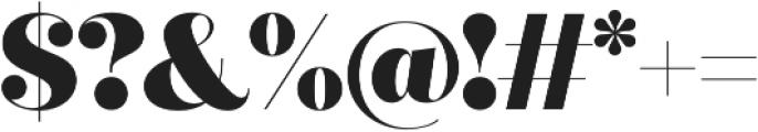 Quiche Fine Black otf (900) Font OTHER CHARS