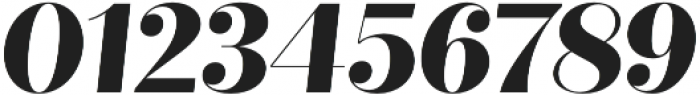 Quiche Fine ExtraBold Italic otf (700) Font OTHER CHARS