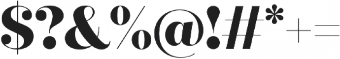 Quiche Fine ExtraBold otf (700) Font OTHER CHARS