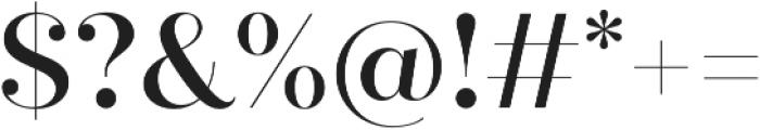 Quiche Fine Medium otf (500) Font OTHER CHARS