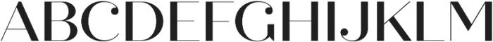 Quiche Fine Medium otf (500) Font UPPERCASE
