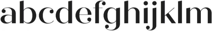 Quiche Fine Medium otf (500) Font LOWERCASE