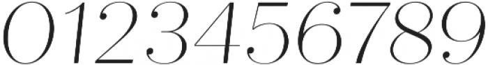 Quiche Fine Thin Italic otf (100) Font OTHER CHARS