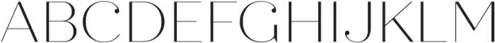 Quiche Fine Thin otf (100) Font UPPERCASE